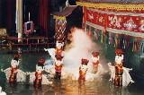 Uwaga, wietnamski teatr na wodzie dopiero od piątku