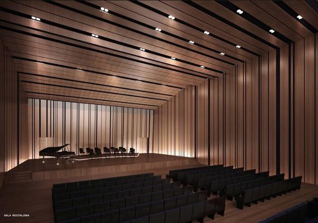 Tak miało wyglądać Centrum Muzyki na Grzegórzkach/ fot Archiwum konkursu