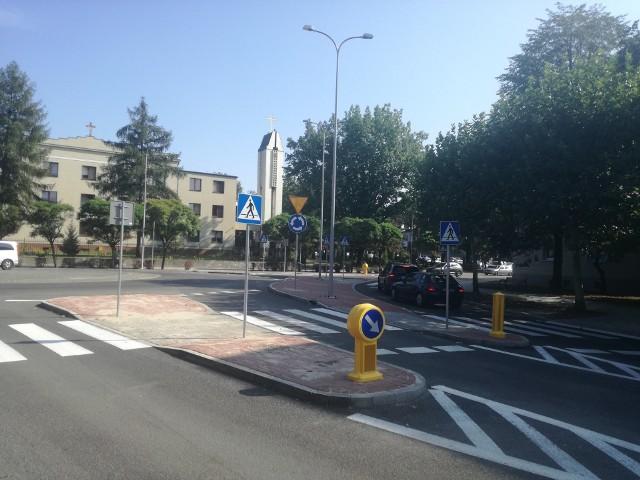 Zakończyła się przebudowa skrzyżowania  ulic Misjonarzy Oblatów i Sokolskiej w Koszutce w Katowicach