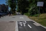 Nowe ścieżki rowerowe w centrum Białegostoku już gotowe. Ukończono ostatnie fragmenty