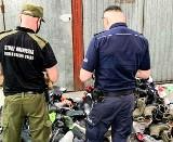 Handel nielegalną odzieżą na targowisku w Łęknicy. Wartość podrabianego towaru to 135 tys. zł