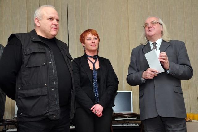 O fotografii Przemysława Barańskiego (z lewej) mówił kolega fotografik, Stanisław Gąsior.