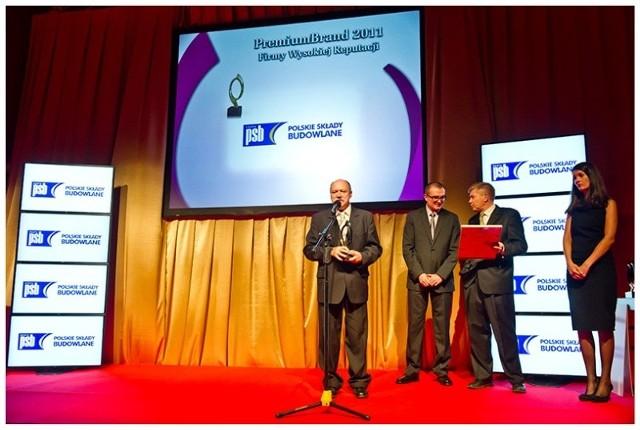Wręczanie nagród odbyło się w Warszawie. A nagrodę w imieniu Grupy PSB odebrał Mirosław Ziach.