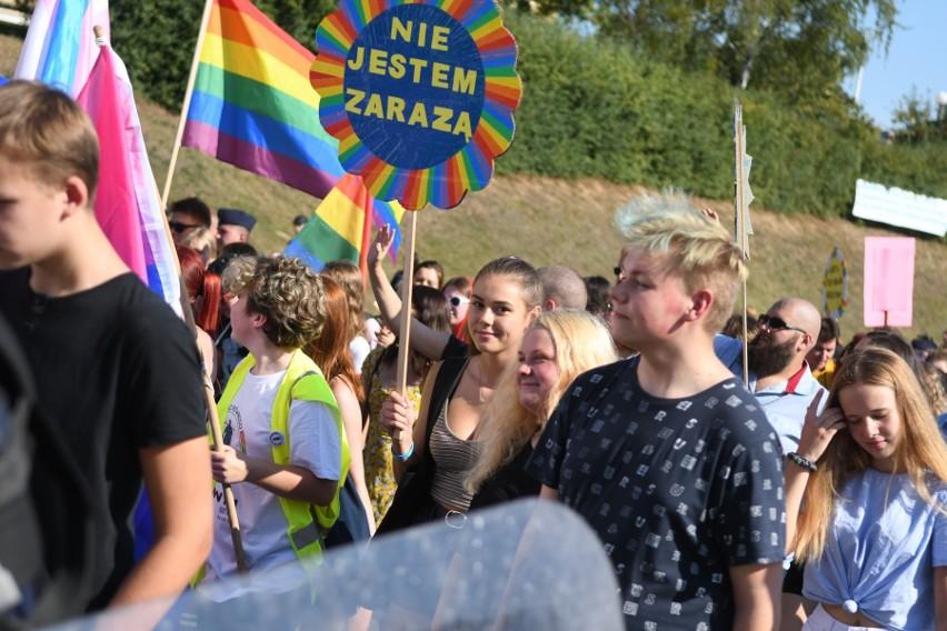W Gorzowie środowisko LGBT było widoczne m.in. podczas...