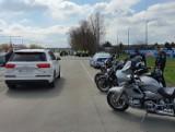 Sporo policji na drodze wyjazdowej z Bydgoszczy. Co to za akcja? [zdjęcia]