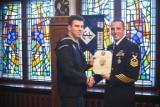 Marynarz z polskimi korzeniami złożył przysięgę na wierność konstytucji USA [ZDJĘCIA, WIDEO]