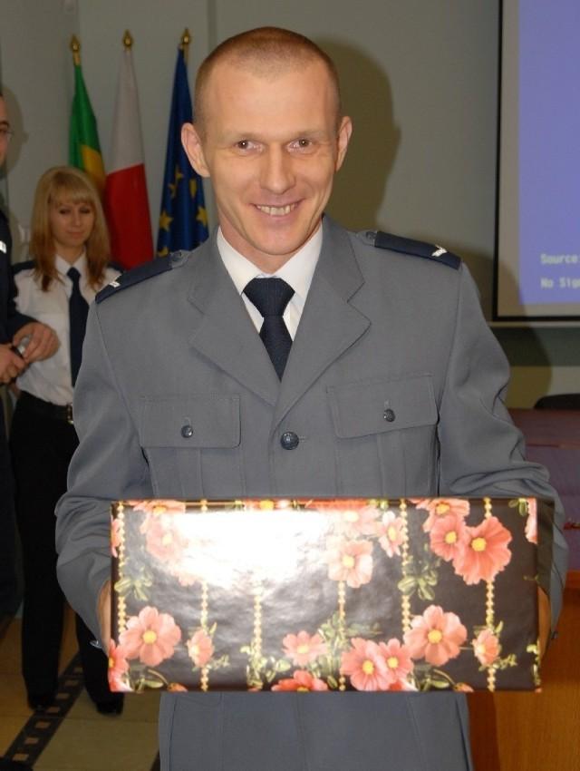 Najpopularniejszy Dzielnicowy 2009 - sierż. Grzegorz Gołaś