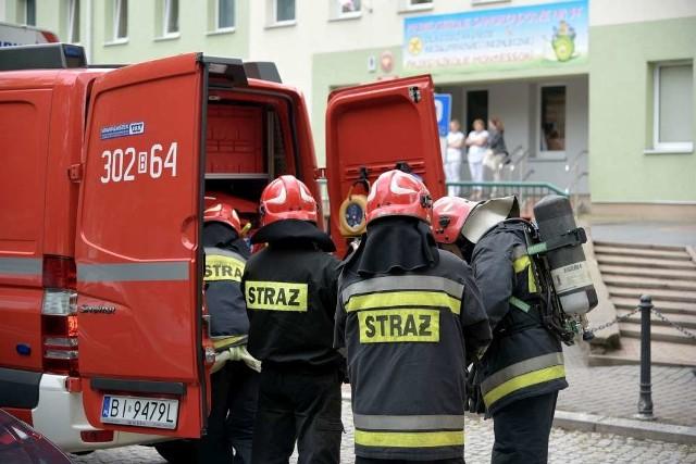 Poznań: Pożar na Jeżycach. Dwie osoby poszkodowane