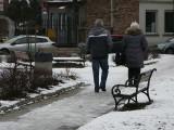 Pabianice. Nieodśnieżone chodniki w Pabianicach. Gdzie jest najgorzej? Raport z miasta ZDJĘCIA