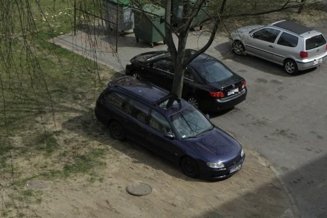 Internauta przez kilka dni obserwował poczynania kierowcy granatowego opla.