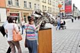 Wrocław: Rzeźba konia w galopie promuje rozpoczęcie sezonu wyścigowego na Partynicach (ZDJĘCIA)