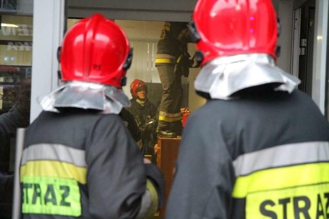 Przebędowo: W stolarni wybuchł pożar