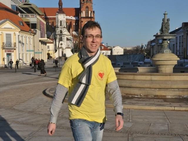 Paweł Bibułowicz chce przejść piechotą 1500 kilometrów