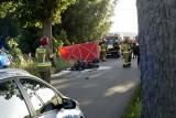 Śmiertelny wypadek na drodze w Objeździe. Zginął motocyklista