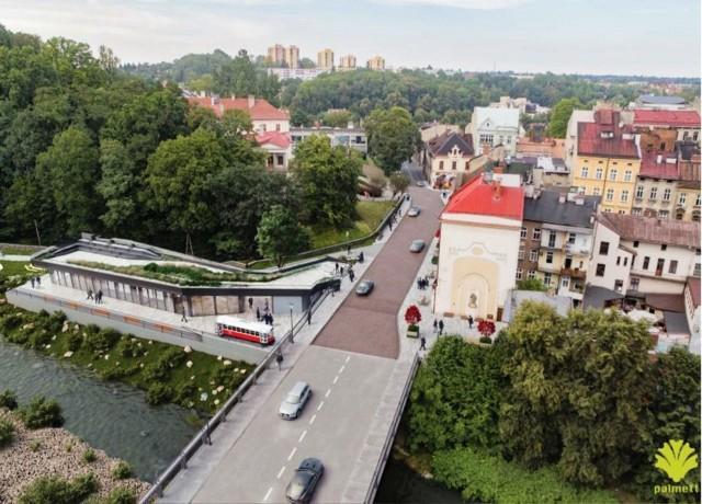 Tak ma wyglądać rejon Mostu Przyjaźni z nowym budynkiem Transgranicznego Centrum Informacji Turystycznej.Zobacz kolejne zdjęcia. Przesuwaj zdjęcia w prawo - naciśnij strzałkę lub przycisk NASTĘPNE