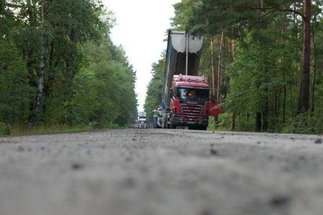 Trasa Lubiatów - Lubogoszcz jest zamknięta.