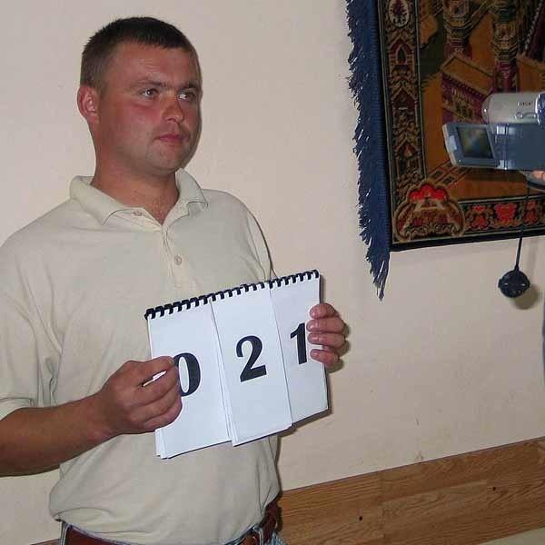 Tomasz Witko, jest jednym ze zwycięzców castingu