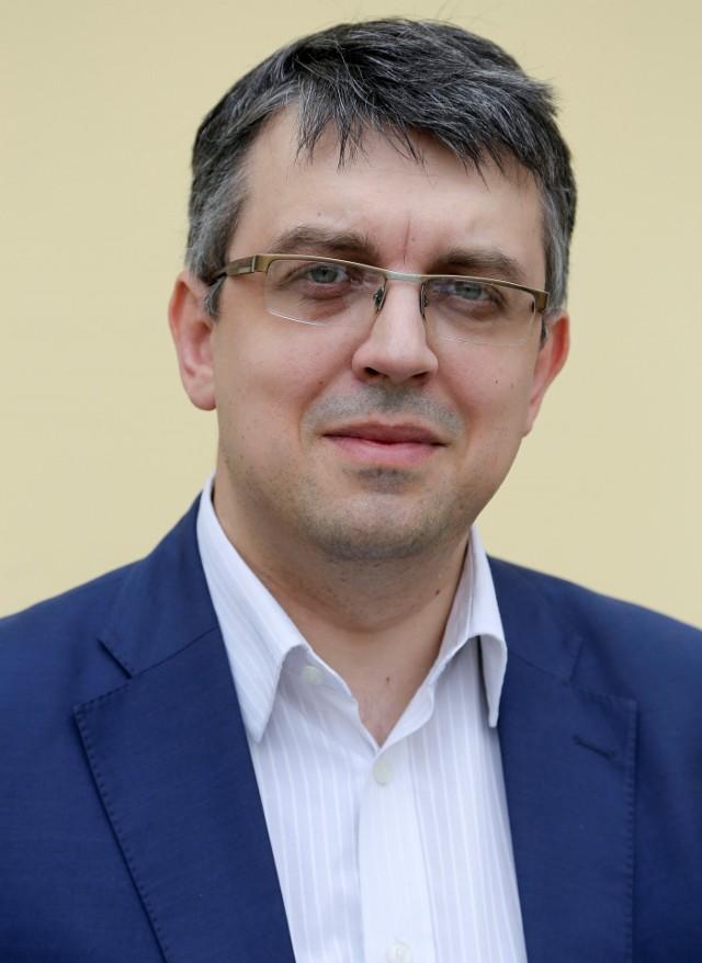 Radosław Hancewicz, rzecznik prasowy Podlaskiej Krajowej Administracji Skarbowej