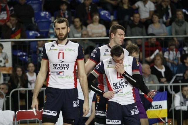 Marcin Możdżonek (od lewej), Grzegorz Bociek i Michał Ruciak po kilku dniach odpoczynku wrócili do mocnego treningu.