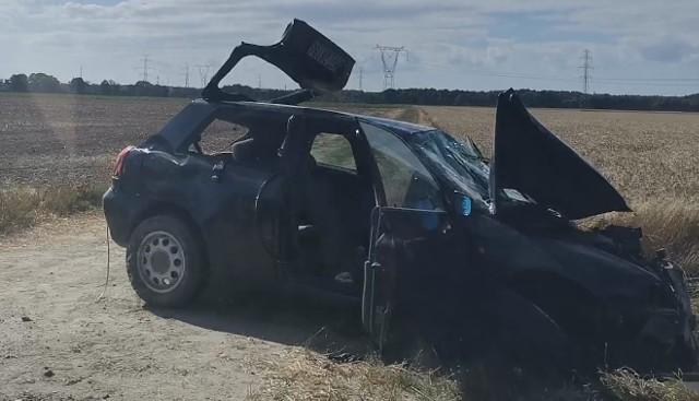Wypadek w Bruskowie Wielkim