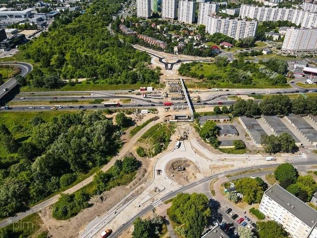 Czasowe wyłączenie skrzyżowania ul. Ślężańskiej i Bobrzańskiej zaplanowane jest w nocy ze środy 7 lipca na czwartek 8 lipca