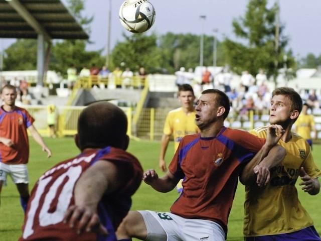 Kibice w Słupsku mają nadzieję, że na stadionie przy ul Zielonej zobaczą Gryfa grającego widowiskowo.
