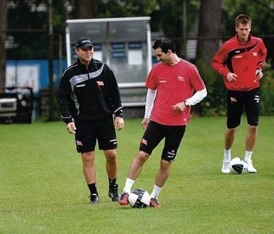 Trener Jurij Szatałow (z lewej) i Sławomir Szeliga Fot. Michał Klag