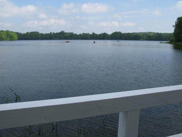 Jezioro Jeleń w Bytowie