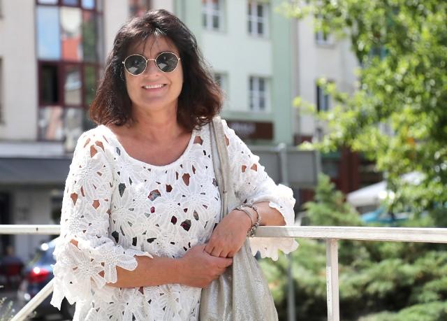"""Ewa Ornacka, autorka książki """"Skazane na potępienie"""""""