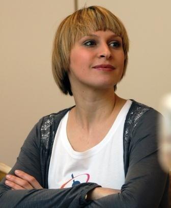"""Paulina Holtz, bohaterka """"Klanu"""", gościła w środę w Białymstoku."""