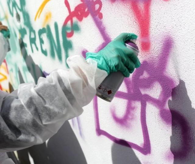 15-letni grafficiarz zatrzymany przez gdańską  policję