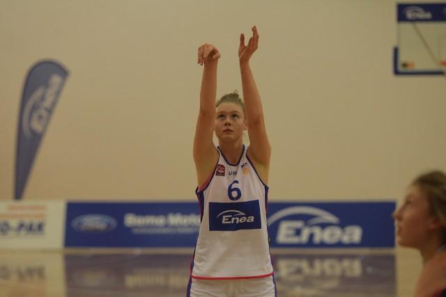 Daria Marciniak zdobyła 23 punkty i była najskuteczniejszą zawodniczką Enei AZS