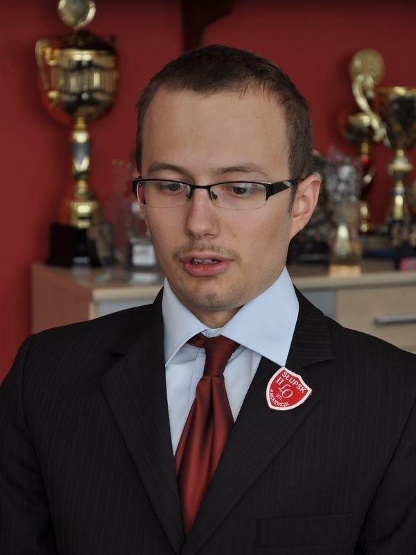 Michał Ledóchowski jeszcze nie zdecydował, czy będzie studiował ekonomię.