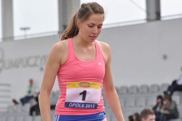 Paulina Wal wynikiem 178 cm pobiła swój rekord życiowy w hali.