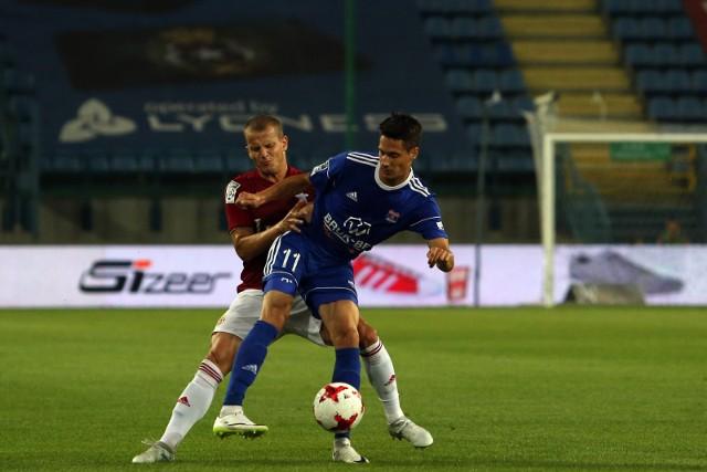 Patrik Misak grał jeszcze w ekstraklasowym Bruk-Becie