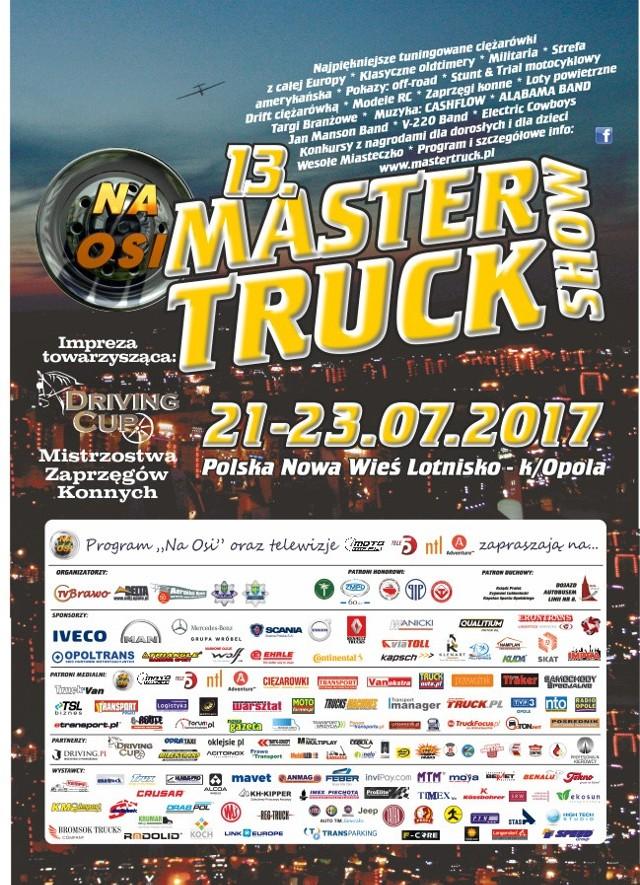 W piątek na lotnisku w Polskiej Nowej Wsi pod Opolem rusza największy zlot stuningowanych ciężarówek w tej części Europy - Master Truck 2017