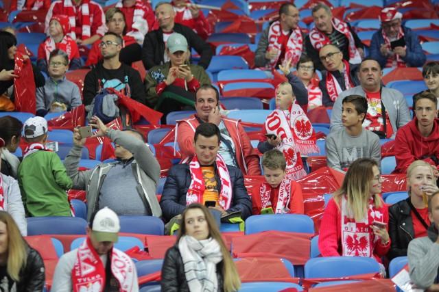Polska - Portugalia: kibice już na Stadionie Śląskim w Chorzowie