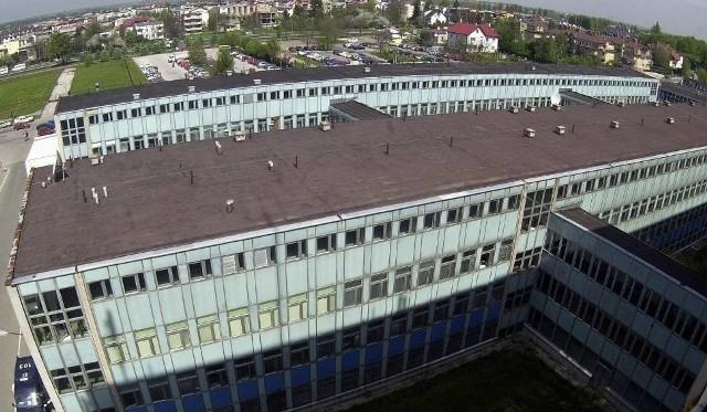 Szpital przy al. Kraśnickiej.