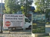 """Piwniczna-Zdrój. Mieszkańcy mówią """"nie"""" dla tirów w Dolinie Popradu. Zaprotestują 15 września na rynku [ZDJĘCIA]"""
