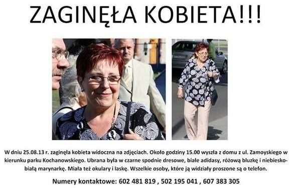 Rodzina poszukiwała zaginionej bydgoszczanki od niedzieli.