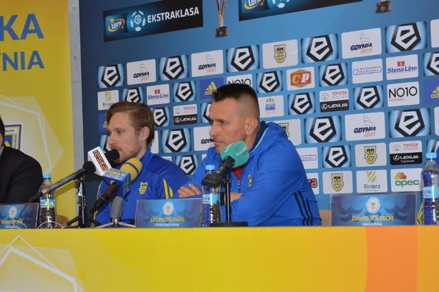 Leszek Ojrzyński był bardzo zawiedziony po meczu z Lechią.