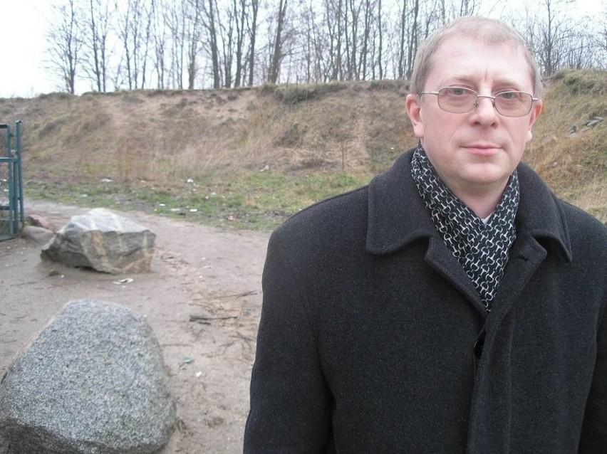 Bogdan Hnat - obecny dyrektor ZSOiT w Miastku.