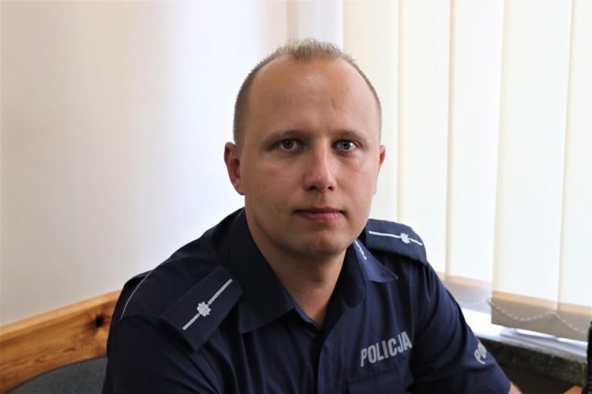 Augustów. Rejon służbowy miejski Nr 3: dzielnicowy – mł....