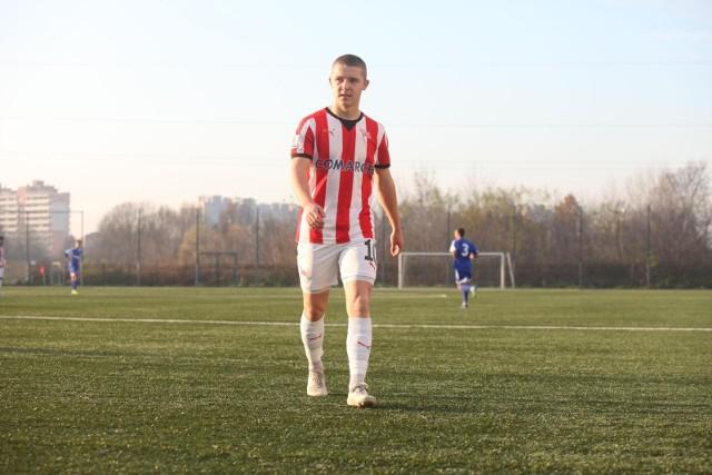 Michał Rakoczy strzelił dwie bramki dla rezerw Cracovii
