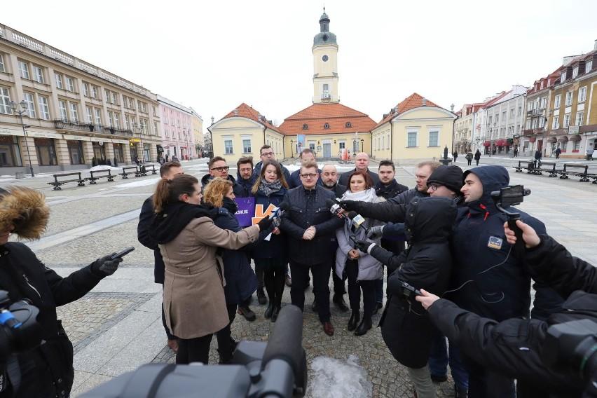 Michał Saniewski szef podlaskich struktur Wiosny