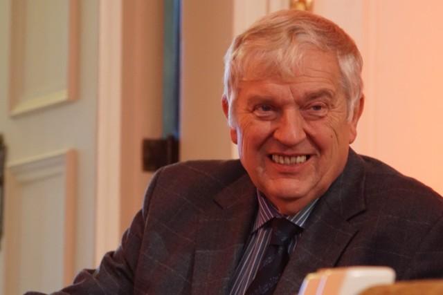 Konstanty Andrzej Kulka lubi przyjeżdżać do Poznania bo wszystko jest tu dobrze zorganizowane i panuje porządek