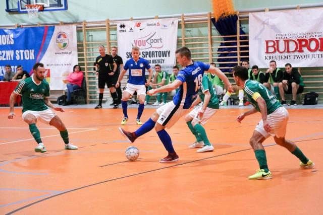 Mecz ekstraklasy futsalu MOKS Białystok - Rekord Bielsko Biała