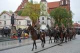 Święto Konstytucji 3 Maja. Uroczystości przy pomniku marszałka Piłsudskiego (zdjęcia)