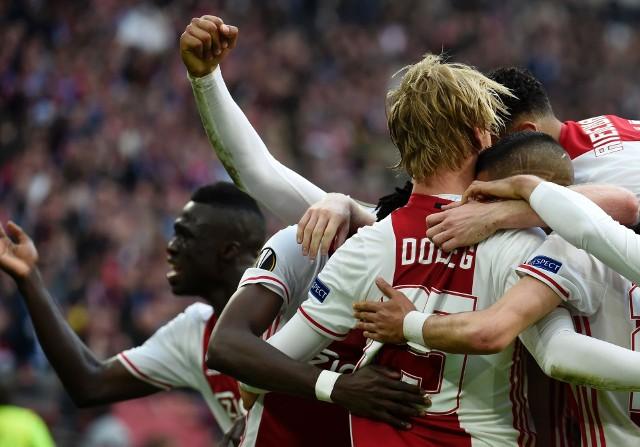Ajax Amsterdam zrobił duży krok w stronę finału Ligi Europy