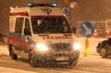 Droga krajowa 28. Wypadek z udziałem 3 radiowozów. 10 osób w szpitalu